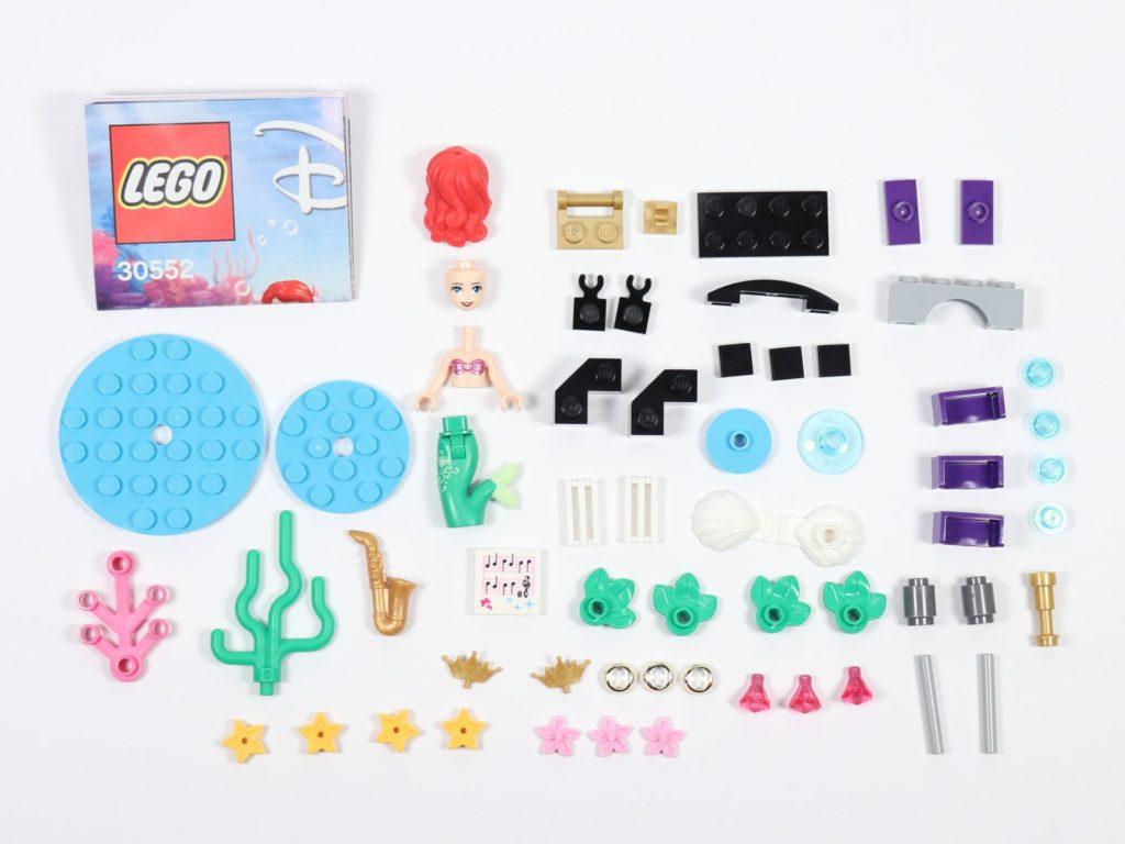 LEGO® Disney 30522 - Ariels Unterwasser Symphonie Polybag, Inhalt | ©2019 Brickzeit