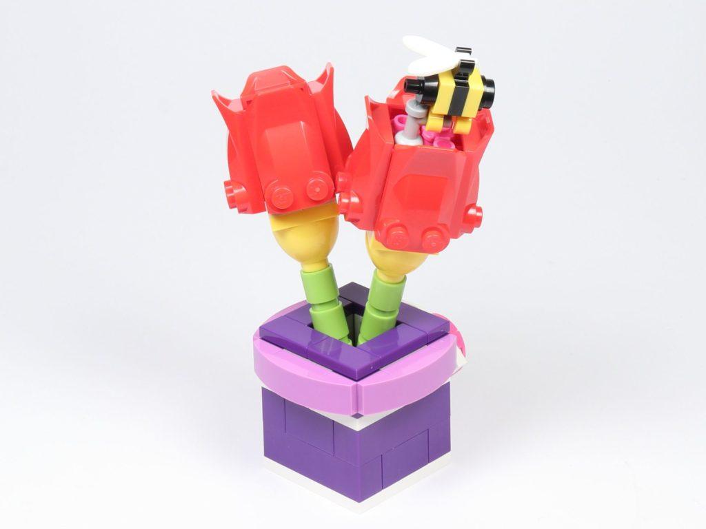 LEGO® Friends 30408 Blume mit Biene - hinten, rechts | ©2019 Brickzeit