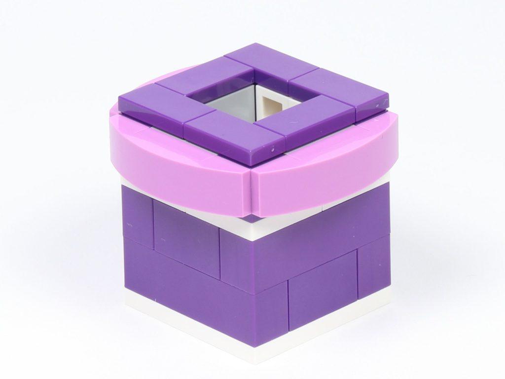 LEGO® Friends 30408 Blume mit Biene - Topf, hinten rechts | ©2019 Brickzeit