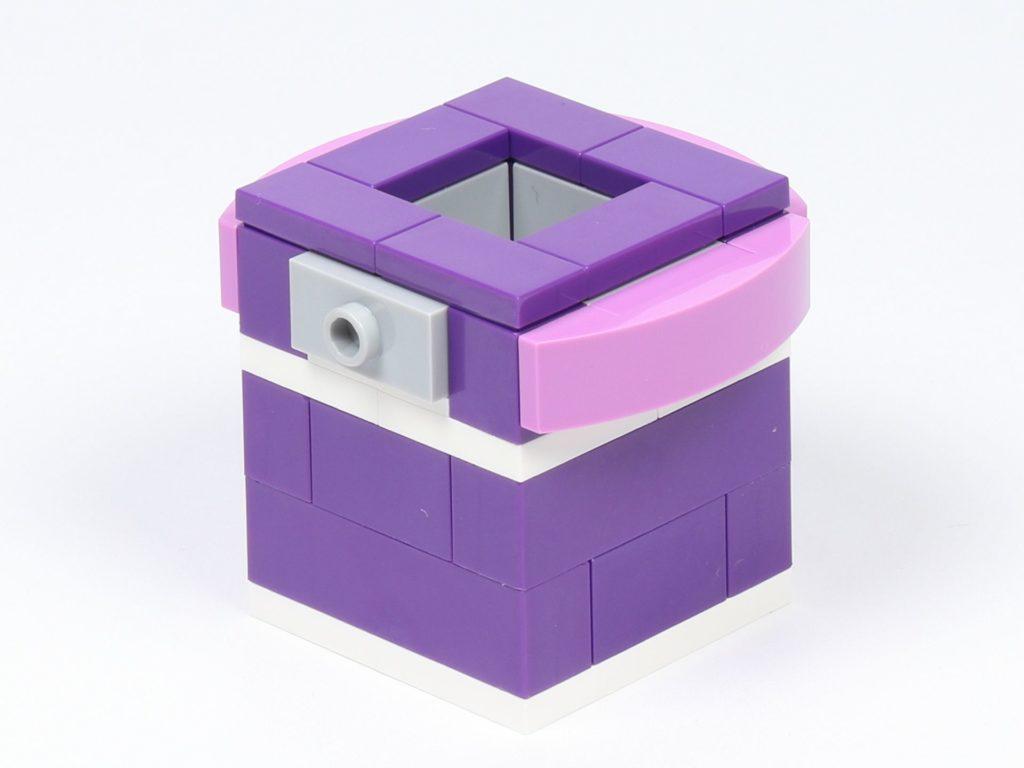 LEGO® Friends 30408 Blume mit Biene - Topf, vorne links | ©2019 Brickzeit