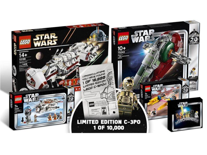 LEGO Ideas 20 Jahre Star Wars Wettbewerb | ®LEGO Gruppe