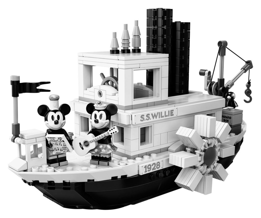 LEGO® Ideas 21317 Steamboat Willie - Bild 01 | ©LEGO Gruppe
