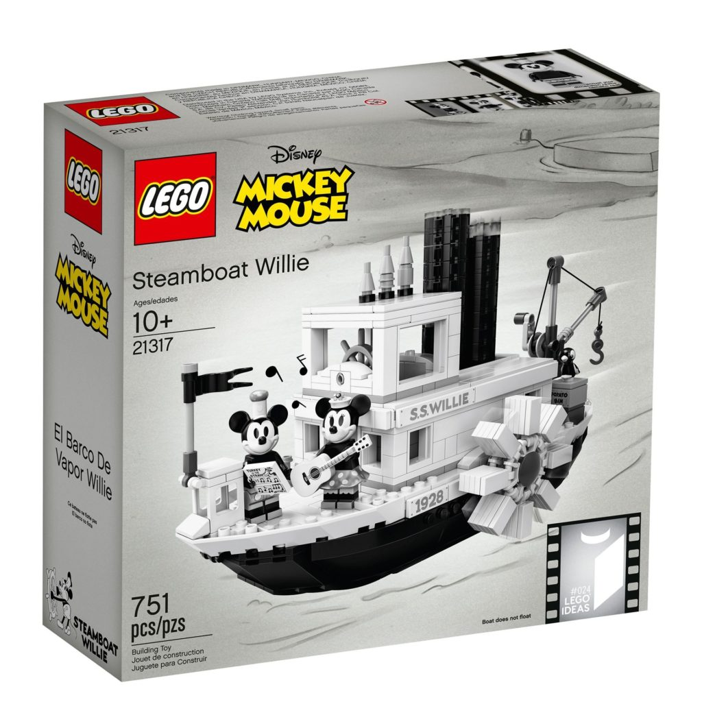 LEGO® Ideas 21317 Steamboat Willie - Bild 16 | ©LEGO Gruppe