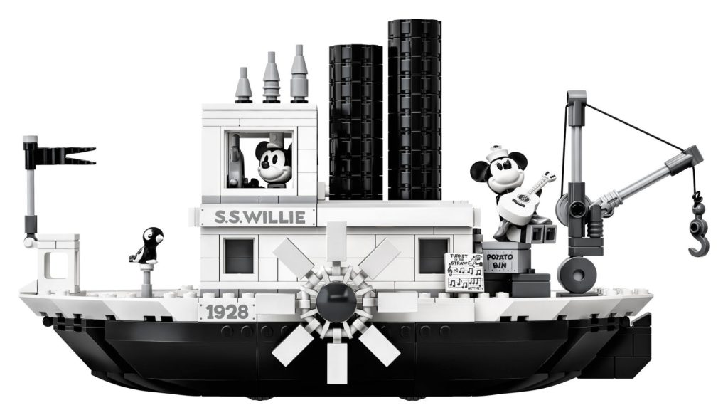 LEGO® Ideas 21317 Steamboat Willie - Bild 15 | ©LEGO Gruppe