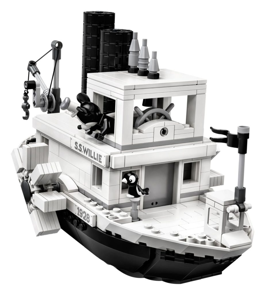 LEGO® Ideas 21317 Steamboat Willie - Bild 14 | ©LEGO Gruppe