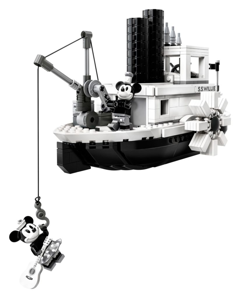LEGO® Ideas 21317 Steamboat Willie - Bild 13 | ©LEGO Gruppe