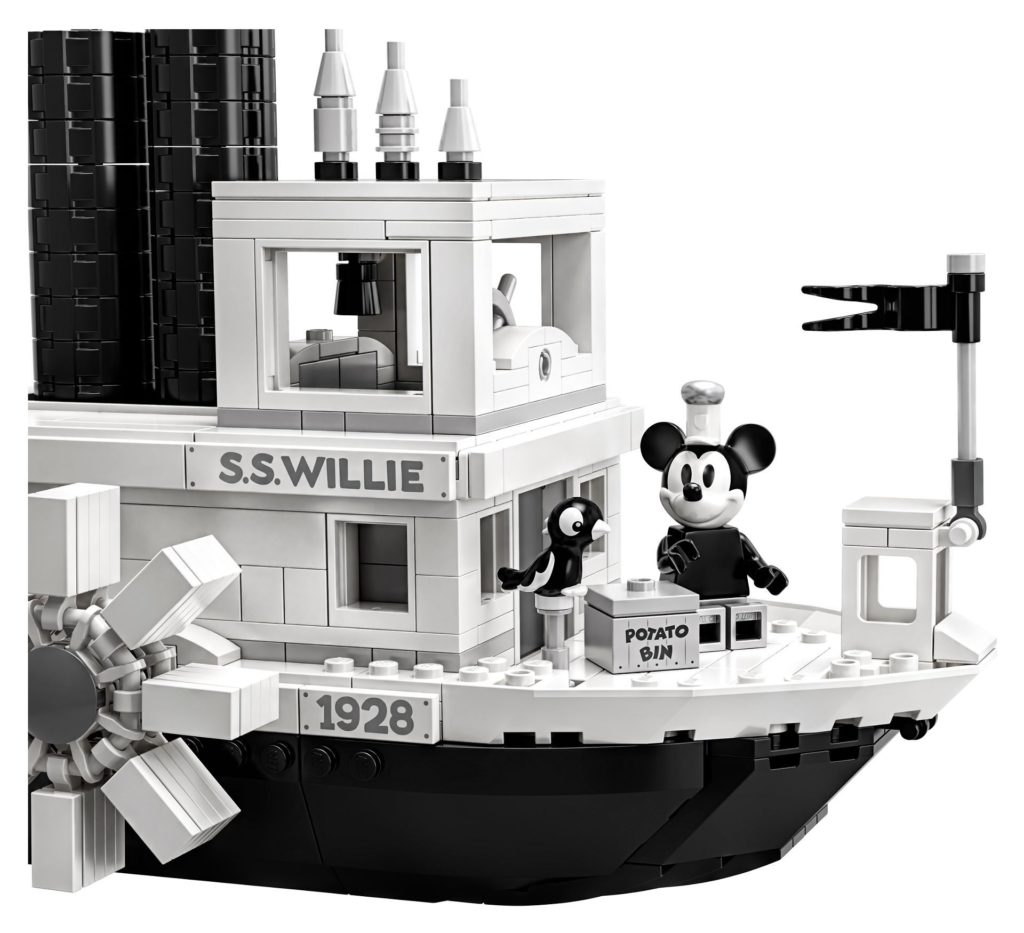 LEGO® Ideas 21317 Steamboat Willie - Bild 11 | ©LEGO Gruppe
