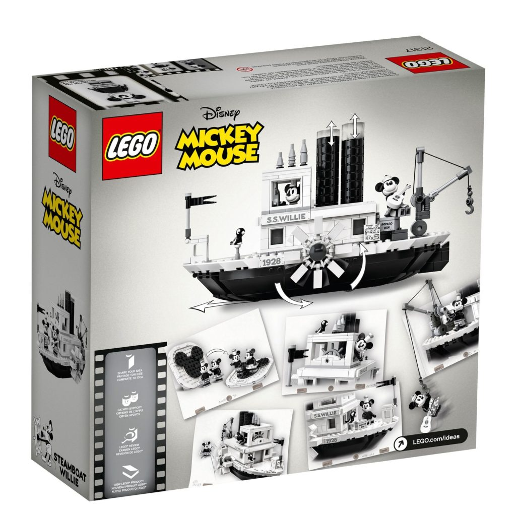 LEGO® Ideas 21317 Steamboat Willie - Bild 10 | ©LEGO Gruppe