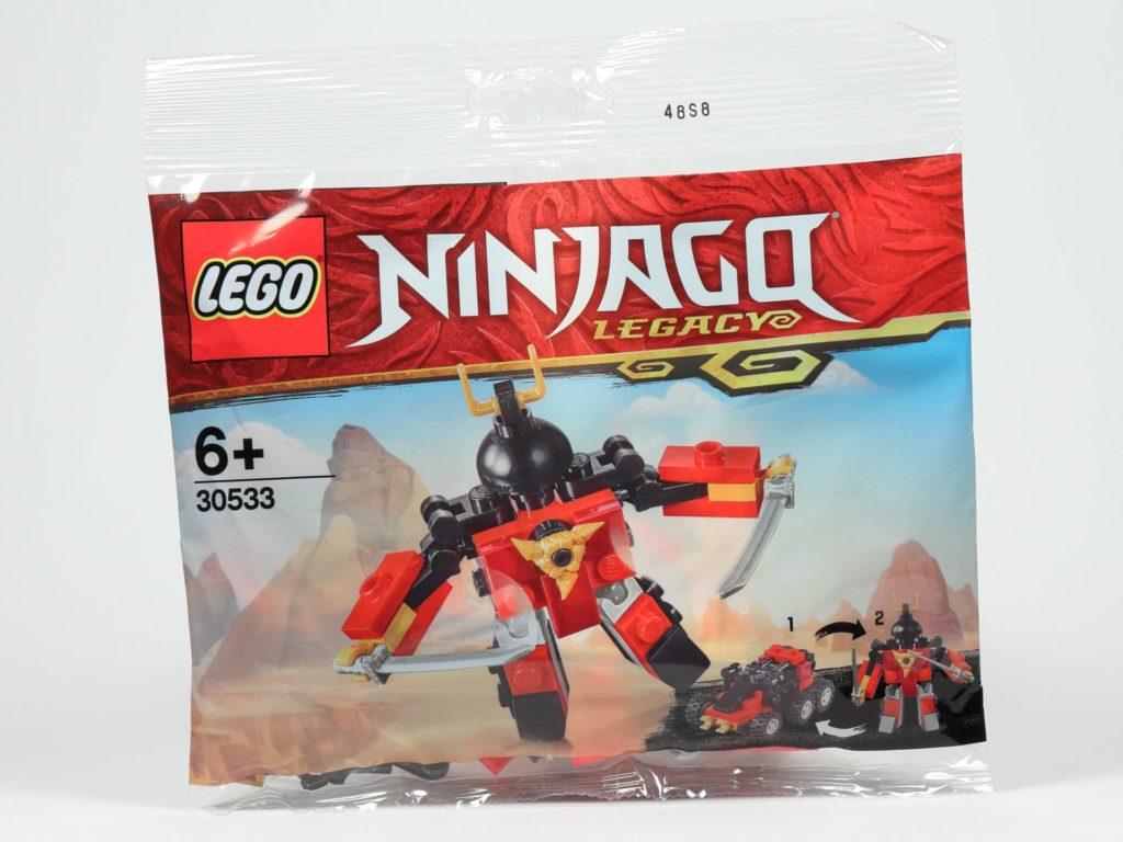 LEGO® Ninjago® Legacy Samurai X Mech - Polybag | ©2019 Brickzeit