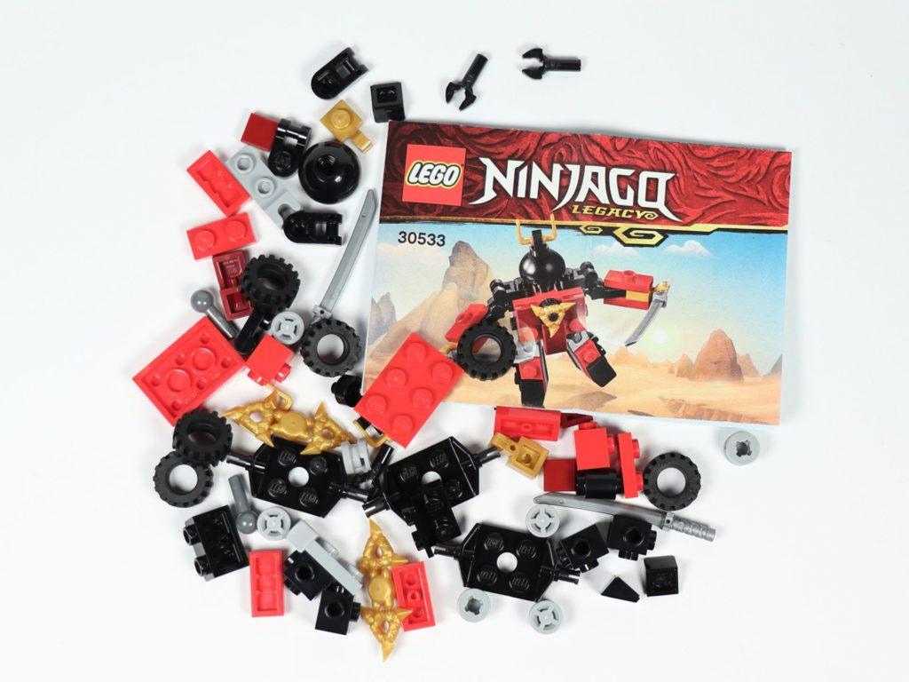 LEGO® Ninjago® Legacy Samurai X Mech - Polybag Inhalt | ©2019 Brickzeit