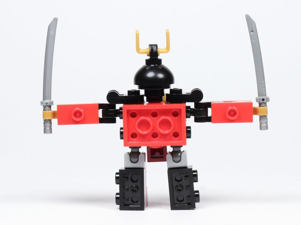 LEGO® Ninjago® Legacy Samurai X Mech - Rückseite | ©2019 Brickzeit