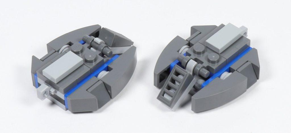 LEGO® Star Wars™ 75002 AT-RT™ - Bauabschnitt 2, Füße | ©2019 Brickzeit