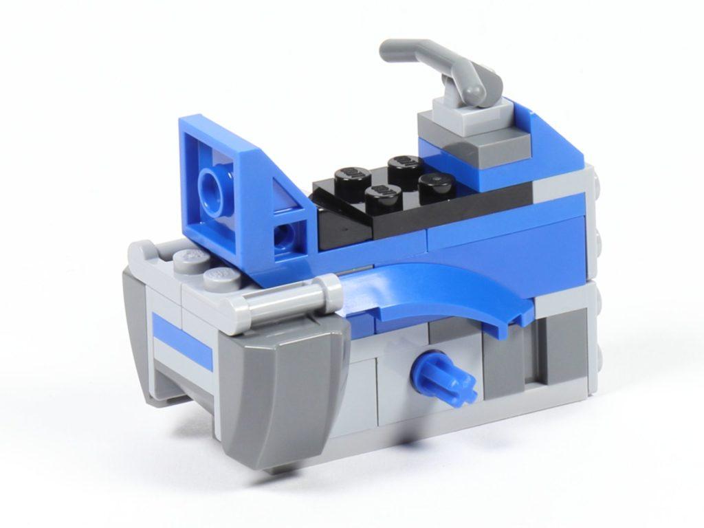 LEGO® Star Wars™ 75002 AT-RT™ - Bauabschnitt 3 - Körper, hinten links | ©2019 Brickzeit