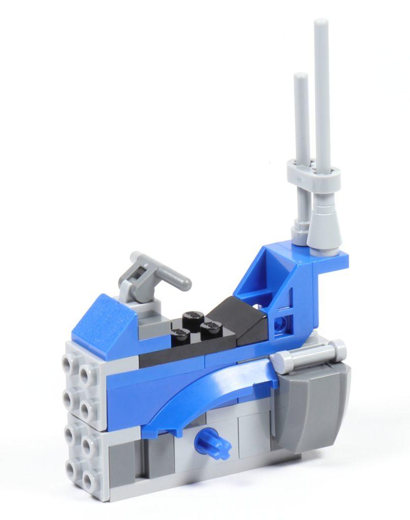 LEGO® Star Wars™ 75002 AT-RT™ - Bauabschnitt 3 - Körper mit Antenne | ©2019 Brickzeit