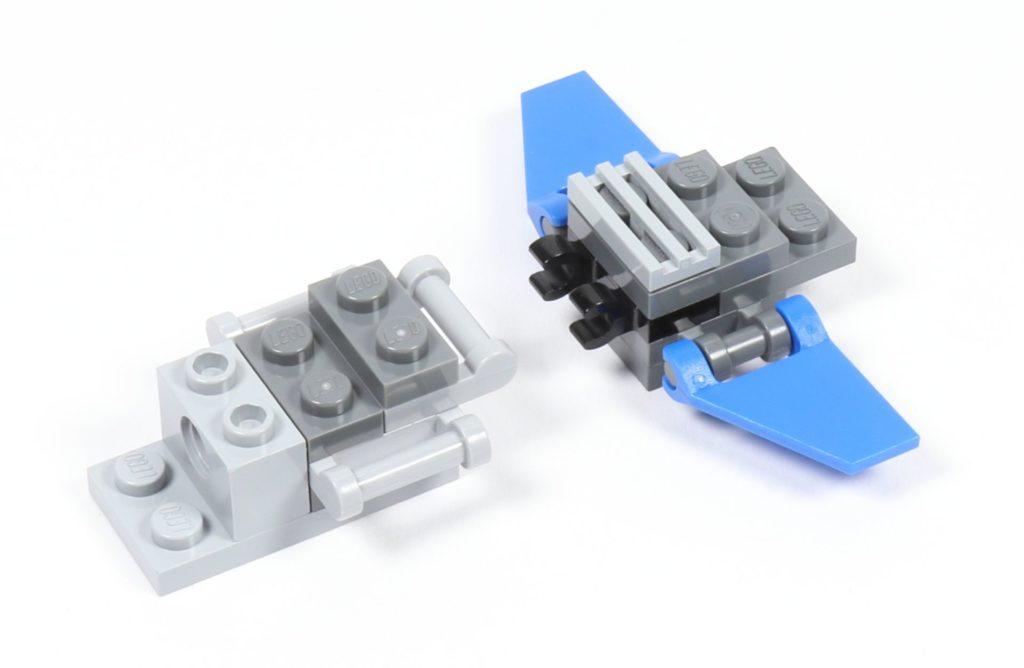 LEGO® Star Wars™ 75002 AT-RT™ - Bauabschnitt 3 - Frontteil | ©2019 Brickzeit