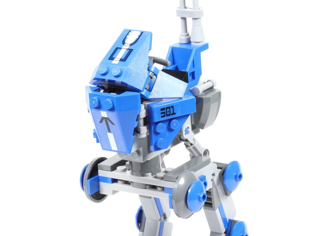 LEGO® Star Wars™ 75002 AT-RT™ - Bauabschnitt 3 - Cockpitteile, angelegt | ©2019 Brickzeit