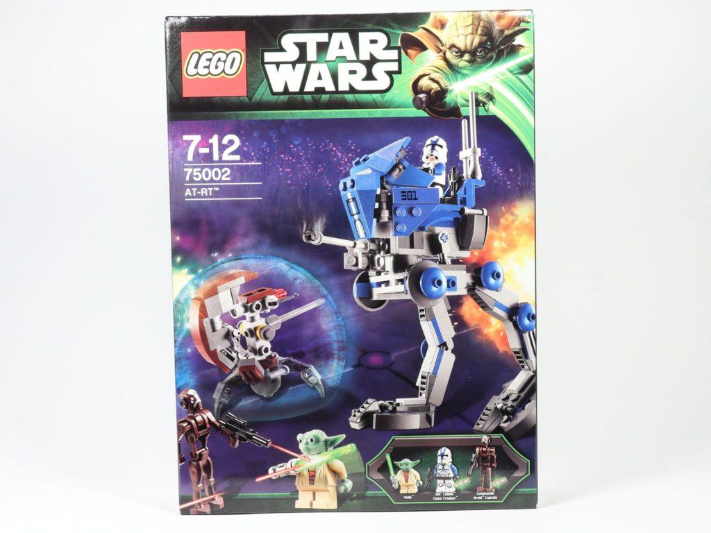 LEGO® Star Wars™ 75002 AT-RT™ - Packung, Vorderseite | ©2019 Brickzeit
