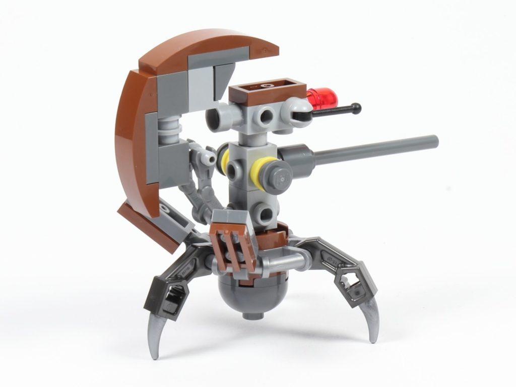 LEGO® Star Wars™ 75002 - Droideka, hinten links | ©2019 Brickzeit