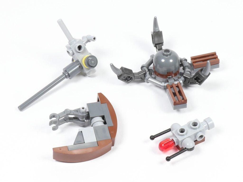 LEGO® Star Wars™ 75002 - Droideka, Baumodule | ©2019 Brickzeit