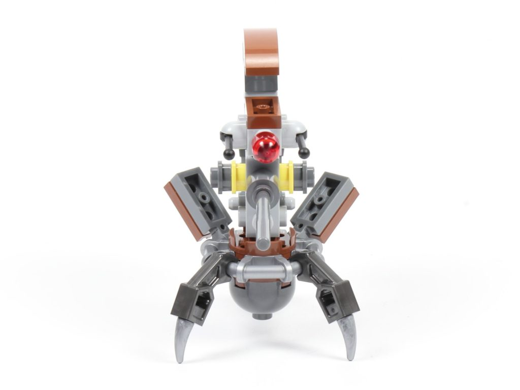 LEGO® Star Wars™ 75002 - Droideka, Vorderseite | ©2019 Brickzeit