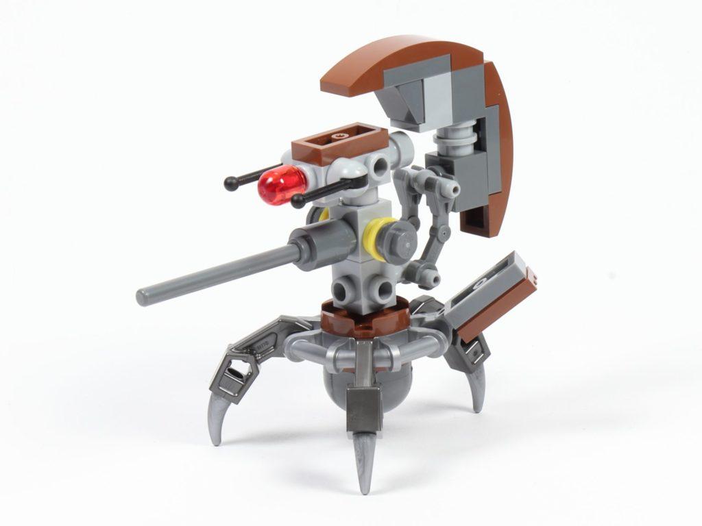 LEGO® Star Wars™ 75002 - Droideka, vorne rechts | ©2019 Brickzeit