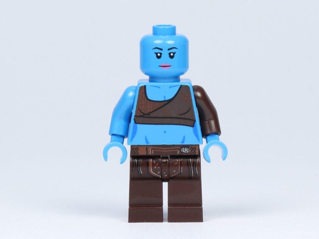 LEGO Star Wars 75182 - Aayla Secura - Vorderseite ohne Haarteil | ©2019 Brickzeit