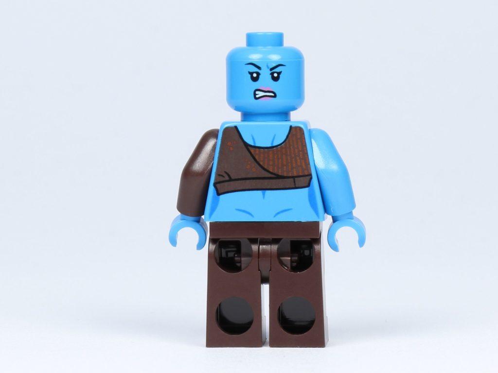 LEGO Star Wars 75182 - Aayla Secura - Rückseite ohne Haarteil | ©2019 Brickzeit