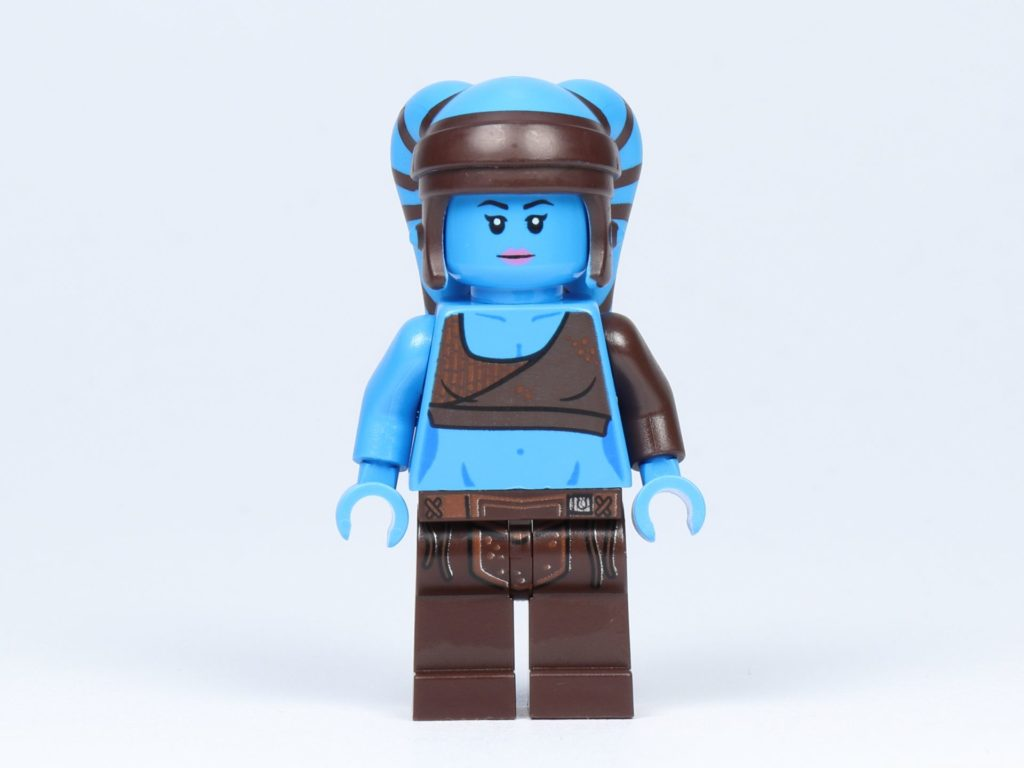 LEGO Star Wars 75182 - Aayla Secura - Vorderseite | ©2019 Brickzeit