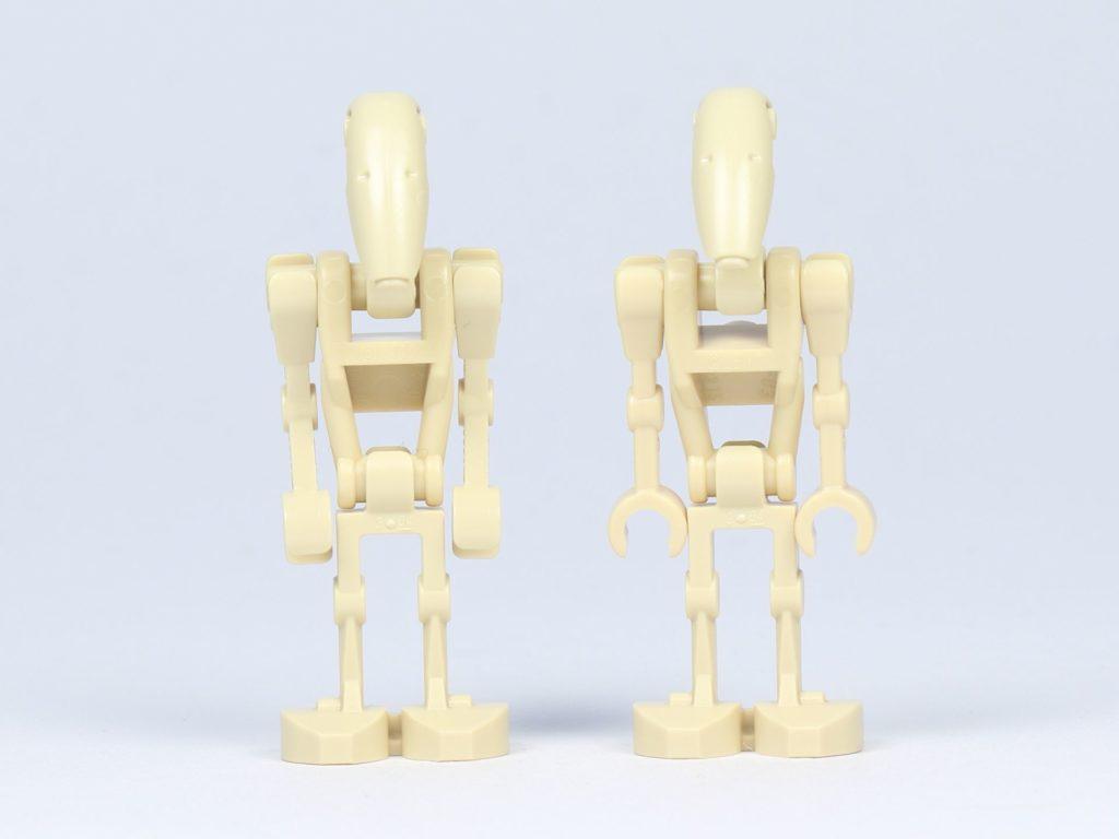 LEGO® Star Wars 75182 - Kampfdroiden, Vorderseite | ©2019 Brickzeit