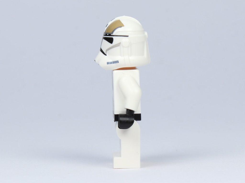 LEGO Star Wars 75182 - Clone Trooper Gunner, linke Seite | ©2019 Brickzeit
