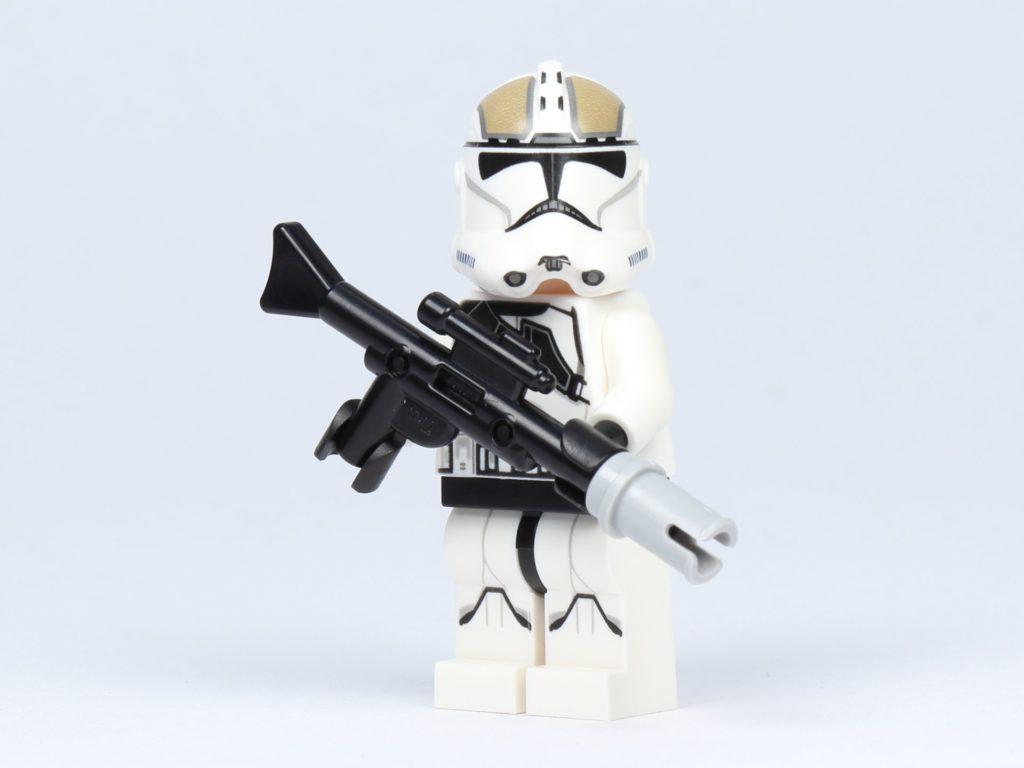 LEGO Star Wars 75182 - Clone Trooper Gunner mit Gewehr | ©2019 Brickzeit