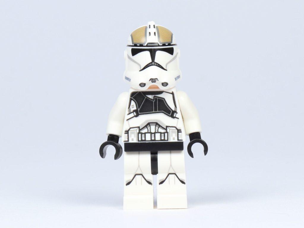 LEGO Star Wars 75182 - Clone Trooper Gunner, Vorderseite | ©2019 Brickzeit
