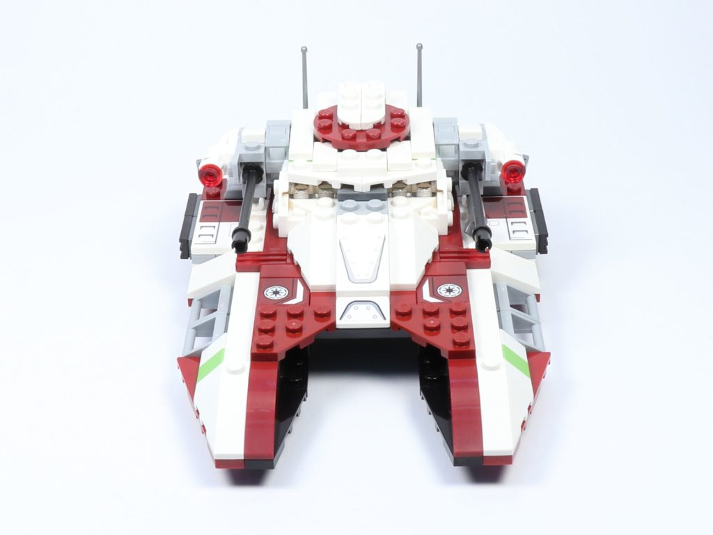 LEGO® Star Wars™ 75182 Republic Fighter Tank - Panzer, Vorderseite | ©2019 Brickzeit