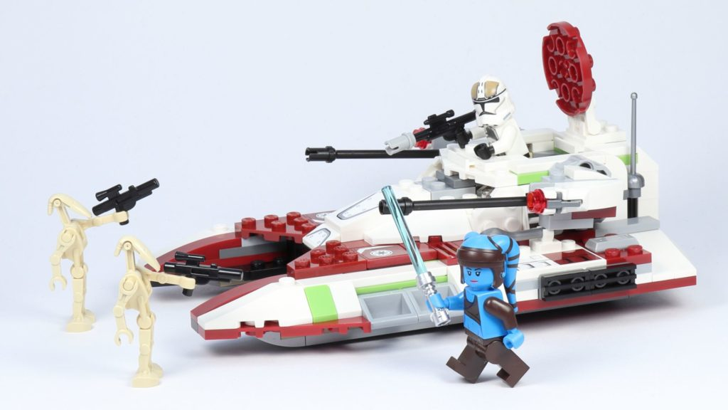 LEGO® Star Wars™ 75182 Republic Fighter Tank | ©2019 Brickzeit