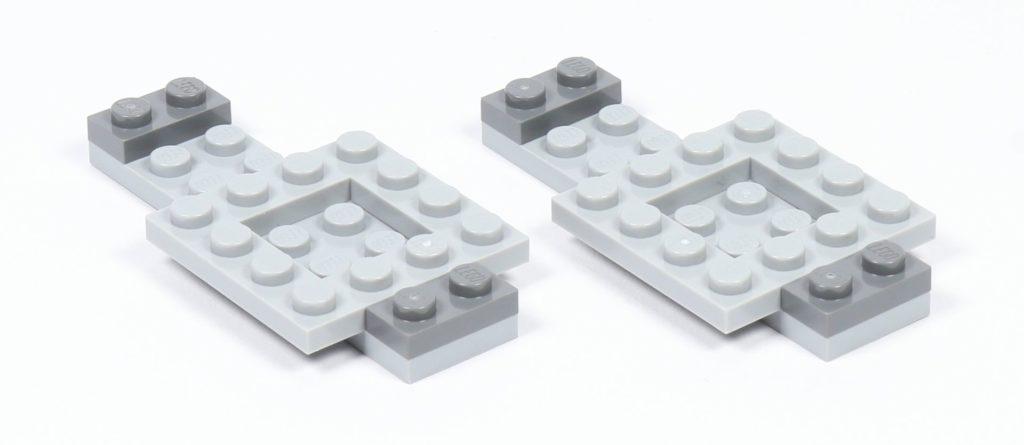LEGO® Star Wars™ 75216 - Vorbereitung Löcher | ©2019 Brickzeit