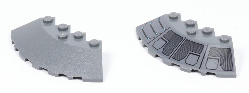LEGO® Star Wars™ 75216 - Bauteile für Thronboden | ©2019 Brickzeit