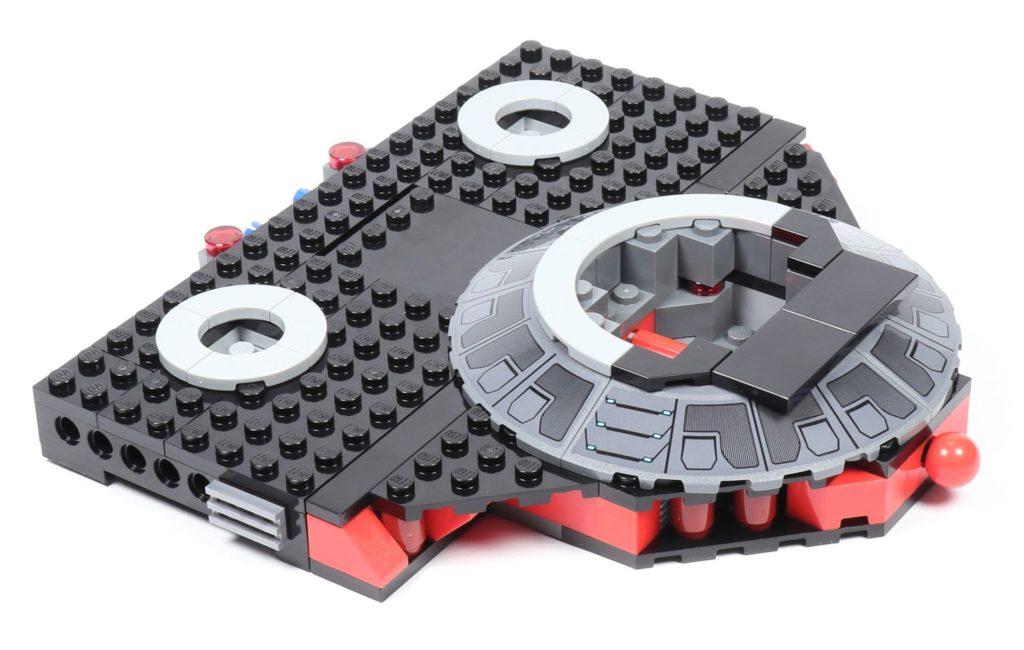 LEGO® Star Wars™ 75216 - Vertiefung mit Bogenfließen, hinten | ©2019 Brickzeit