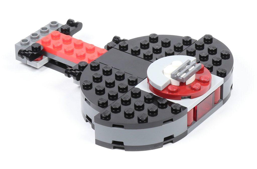 LEGO® Star Wars™ 75216 - Aufzugboden befestigt auf Drehscheibe | ©2019 Brickzeit