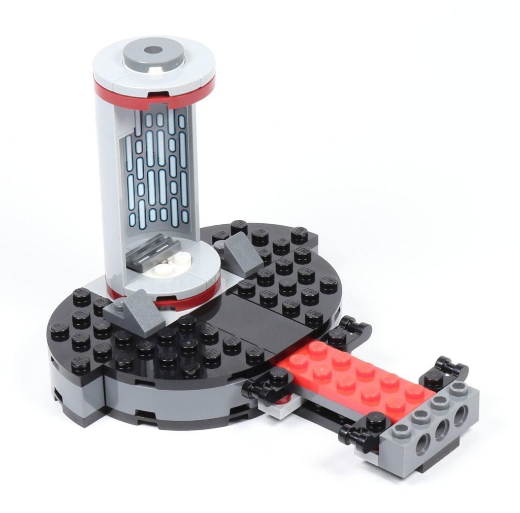 LEGO® Star Wars™ 75216 - Aufzug befestigt | ©2019 Brickzeit