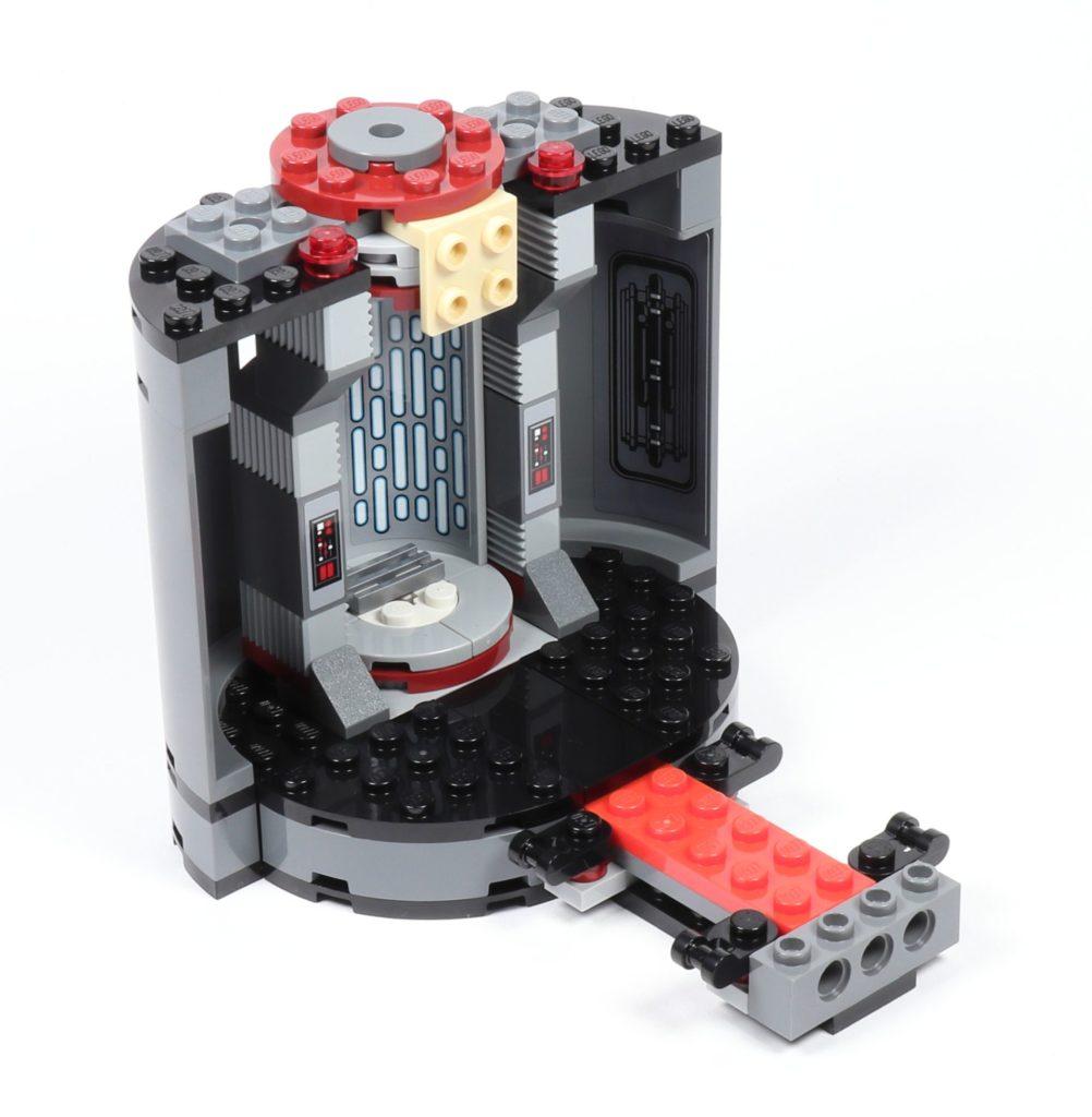 LEGO® Star Wars™ 75216 - Aufzugsbereich ausgebaut | ©2019 Brickzeit