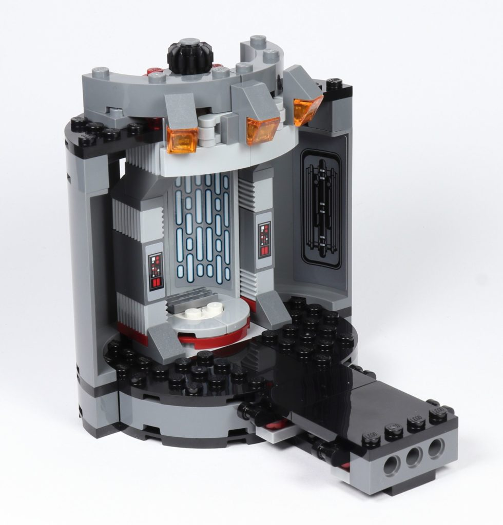 LEGO® Star Wars™ 75216 - Plattform mit Aufzug fertig, vorne | ©2019 Brickzeit