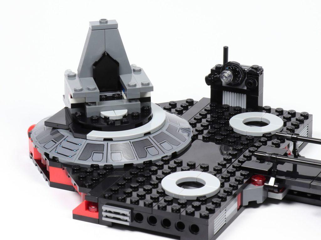 LEGO® Star Wars™ 75216 - Thron aufgesteckt | ©2019 Brickzeit
