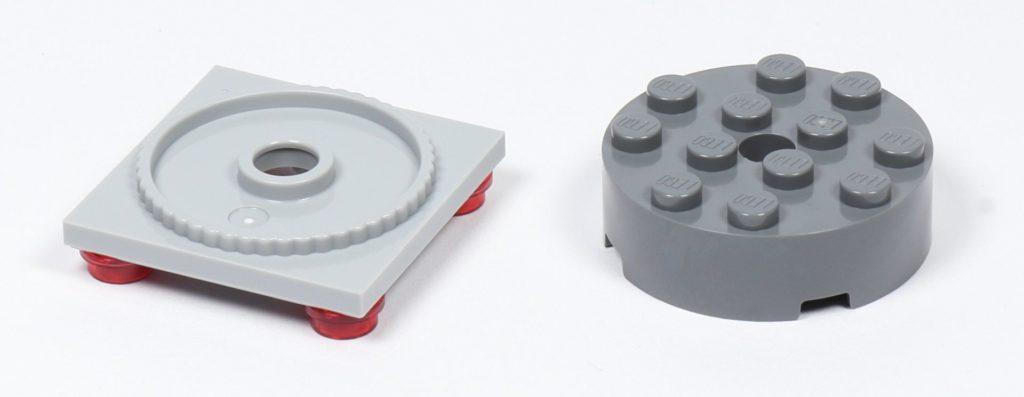 LEGO® Star Wars™ 75216 - Thron, Bauteile für Drehvorrichtung | ©2019 Brickzeit