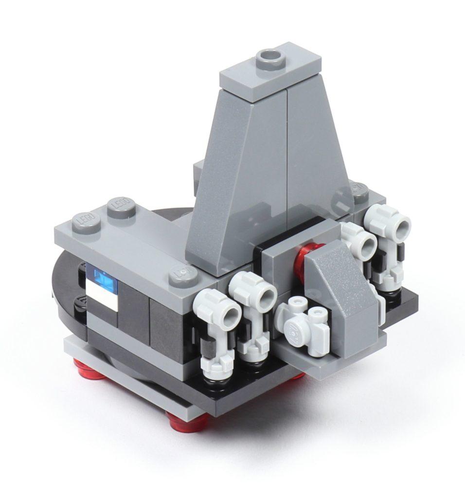 LEGO® Star Wars™ 75216 - Thron, Rückseite | ©2019 Brickzeit