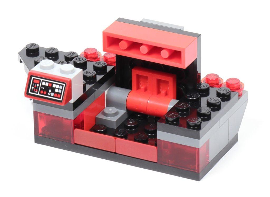 LEGO® Star Wars™ 75216 - Bauabschnitt 3, rechter Säulenboden. Staufach | ©2019 Brickzeit