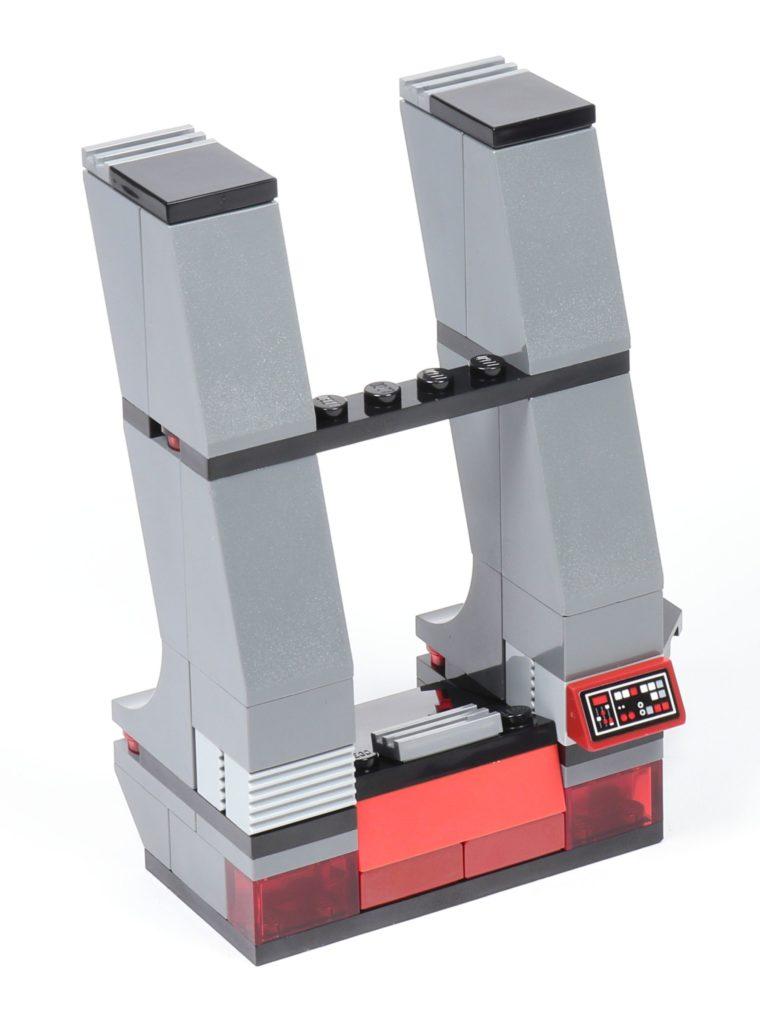 LEGO® Star Wars™ 75216 - Bauabschnitt 3, linke Säule fertig | ©2019 Brickzeit
