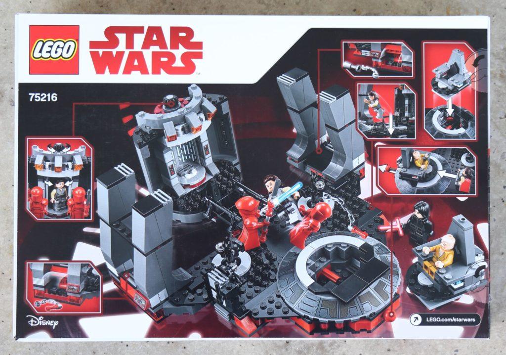 LEGO® Star Wars™ 75216 - Packung Rückseite | ©2019 Brickzeit