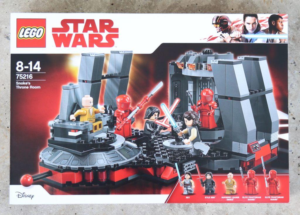 LEGO® Star Wars™ 75216 - Packung Vorderseite | ©2019 Brickzeit