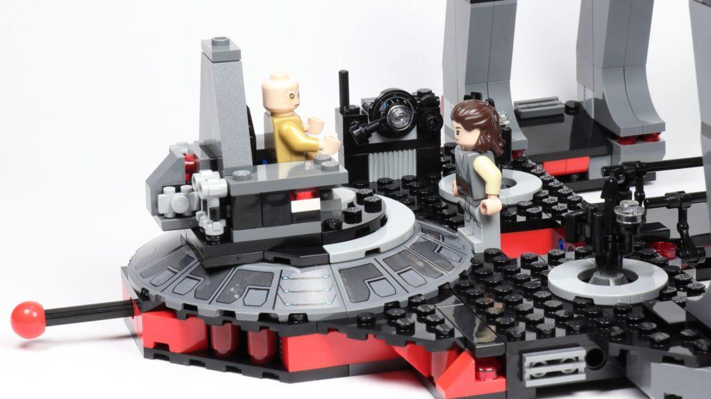LEGO® Star Wars™ 75216 - Rey an den Thron herangezogen | ©2019 Brickzeit