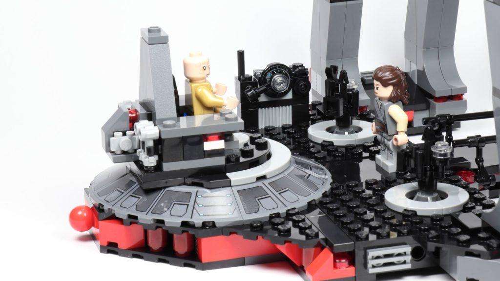 LEGO® Star Wars™ 75216 - Rey vor dem Thron | ©2019 Brickzeit